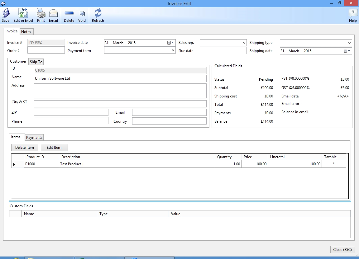 uniform invoice software excel invoice manager invoice database software