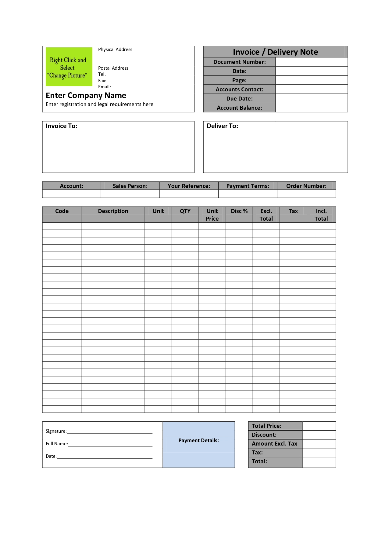 11 invoice template in word document top invoice templates making an invoice in word