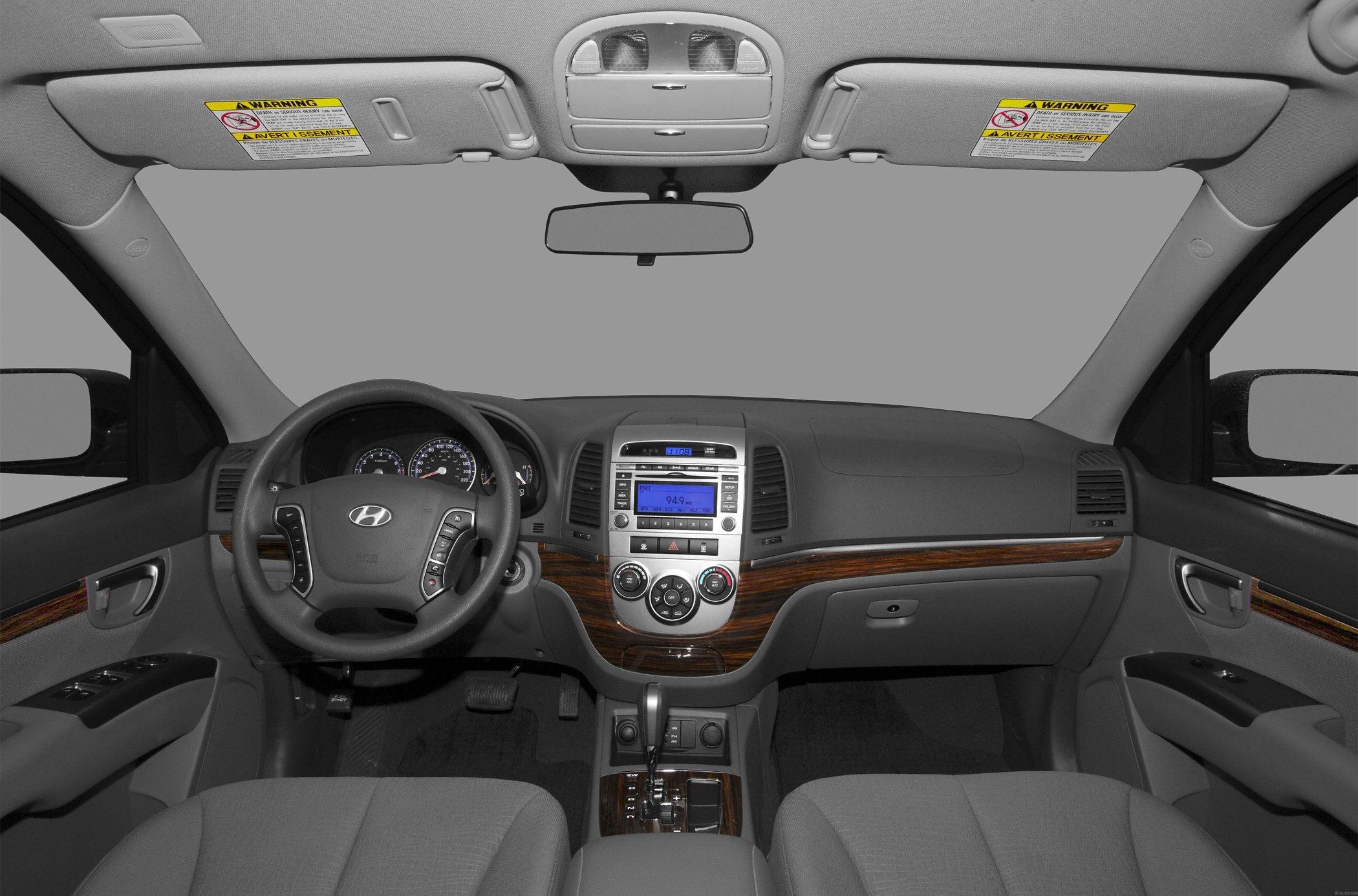 2012 hyundai santa fe suv gls front wheel drive interior front seats 2 hyundai santa fe invoice price
