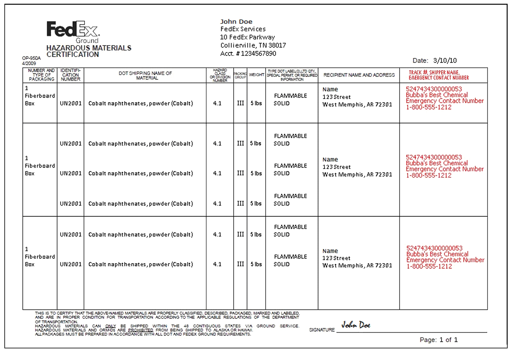 9 fedex commercial invoice template invoicetemplatesite us commercial invoice
