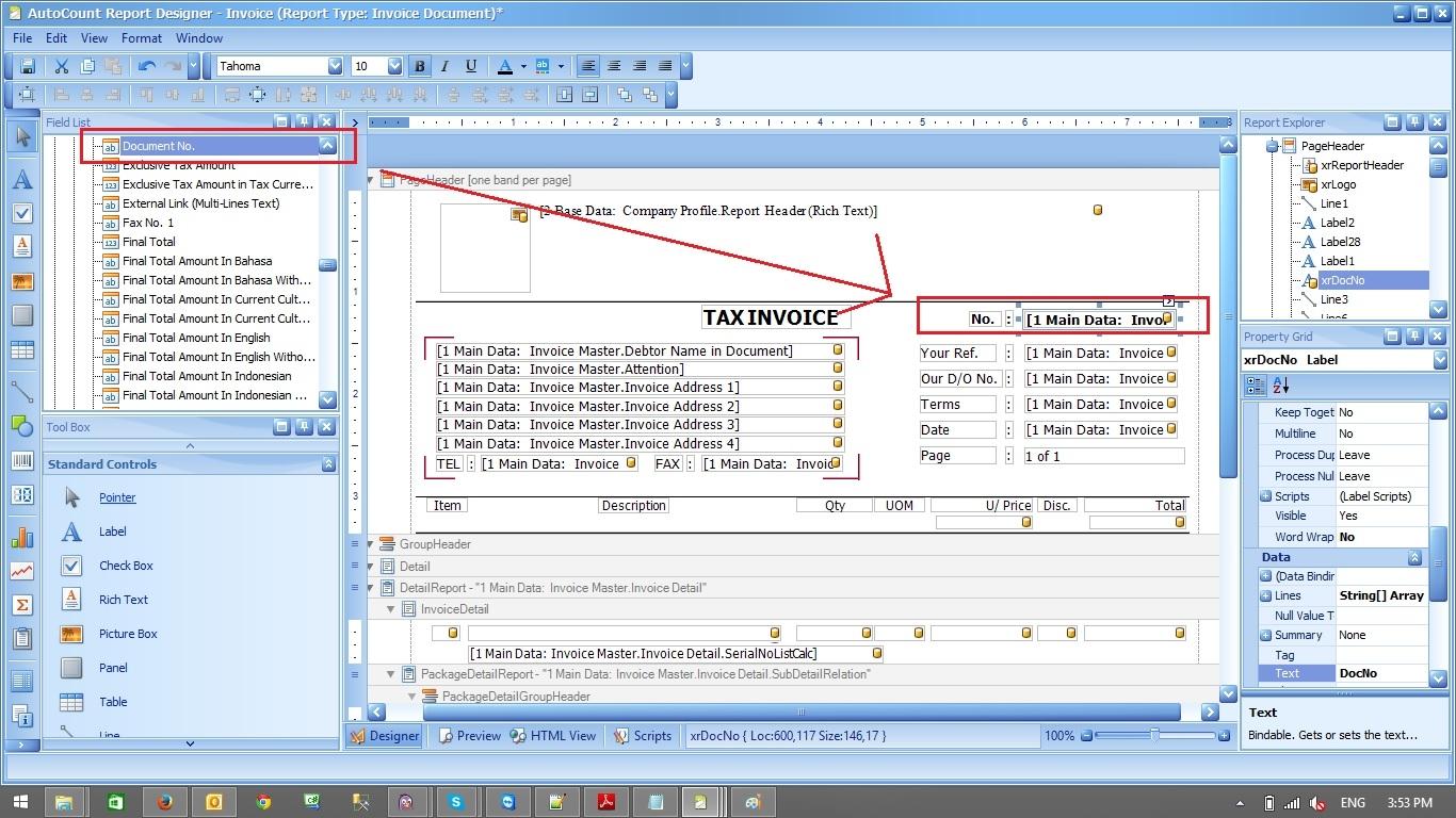 autocount accounting report designer converting invoice into tax create tax invoice