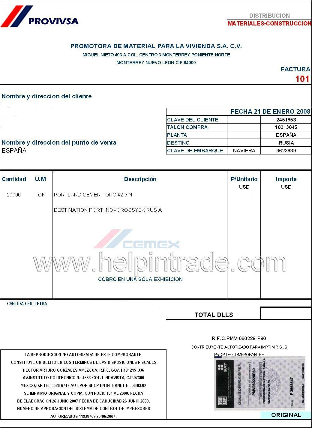 commercial invoice help in trade payment terms invoice