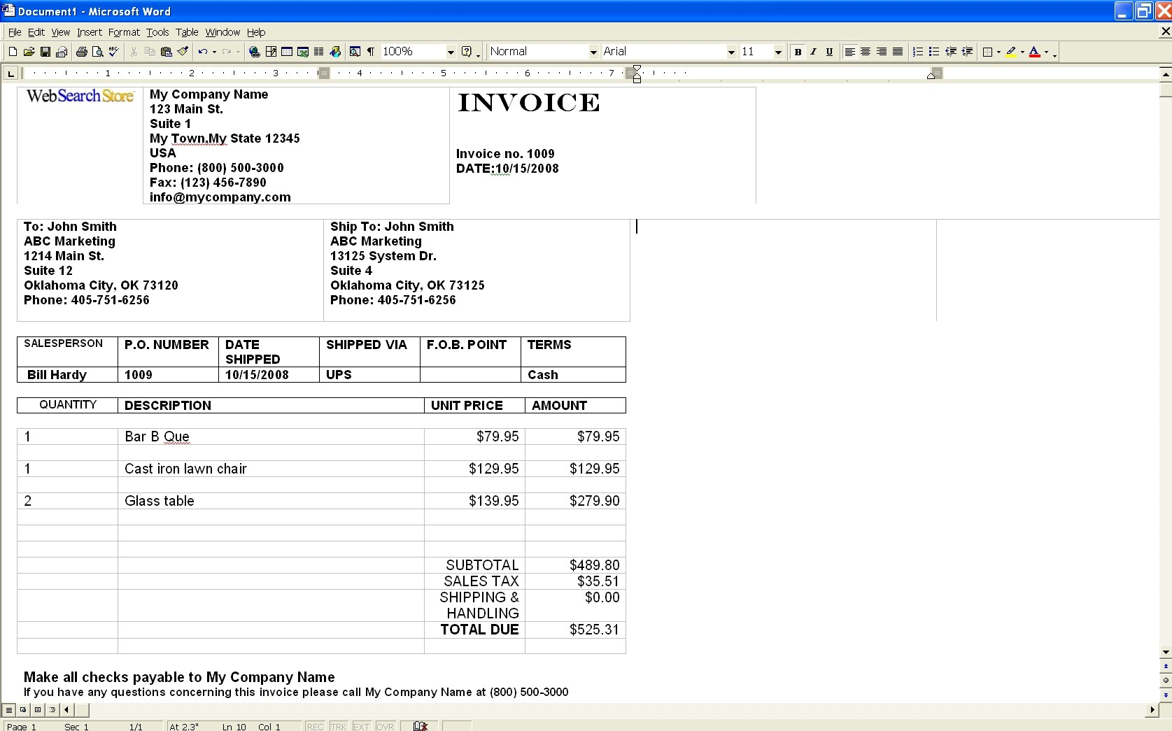 factoring invoices october 2011 painting invoice sample