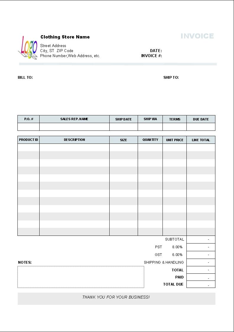 free auto invoice format 10 results found uniform invoice software free invoice for mac