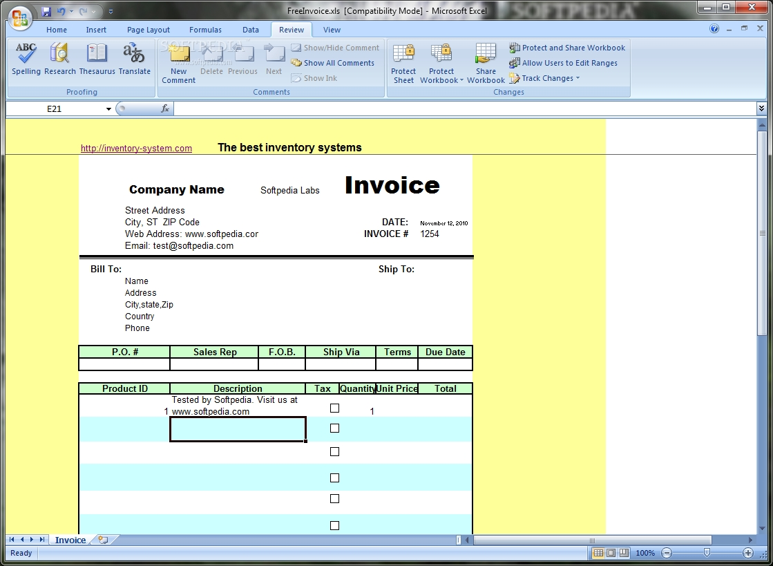 free excel invoice template download invoice template excel free download