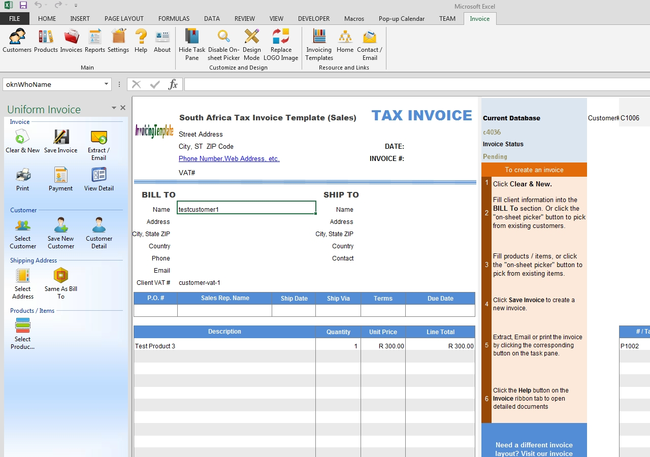 free south africa tax invoice template sales requirements for a valid tax invoice