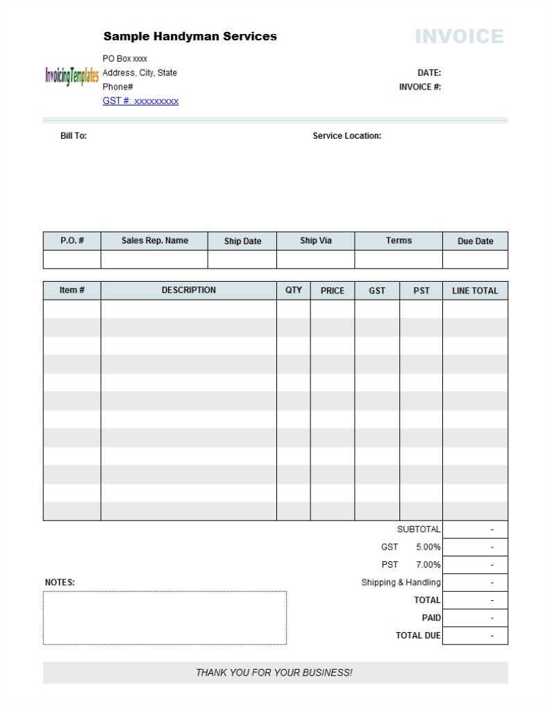 garage invoice software repair invoice form 10 results found uniform invoice software 795 X 1016