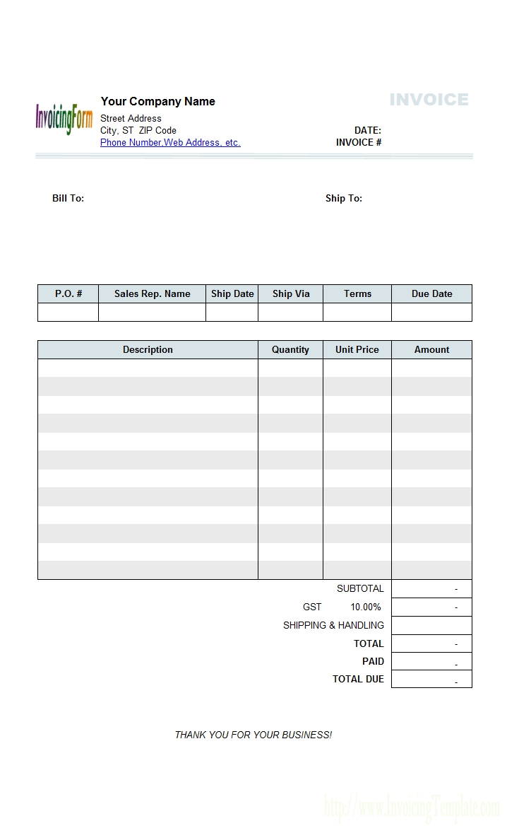 general invoice template top 15 results expenses invoice template