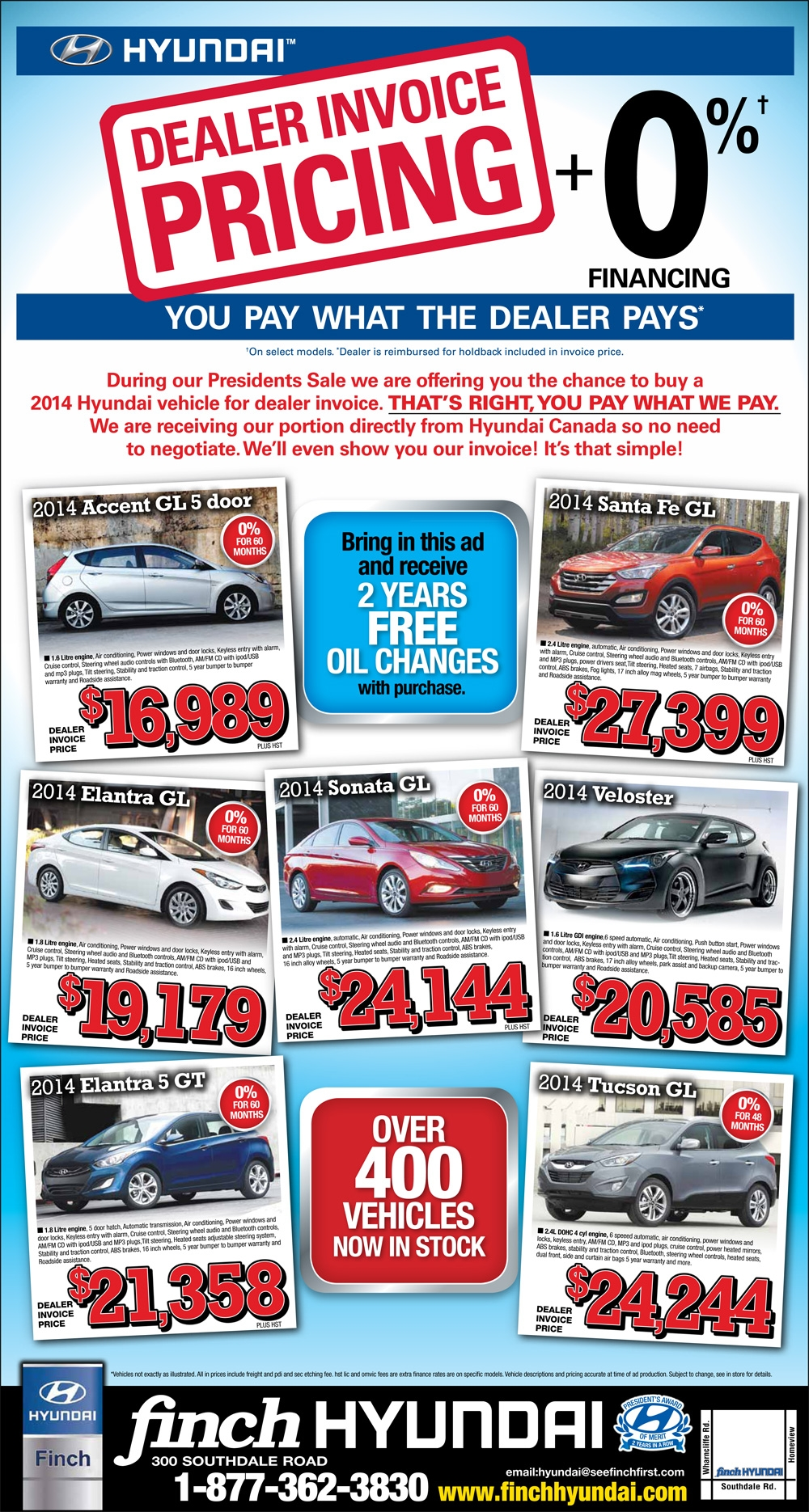 get dealer invoice pricing during the finch hyundai presidents hyundai invoice prices
