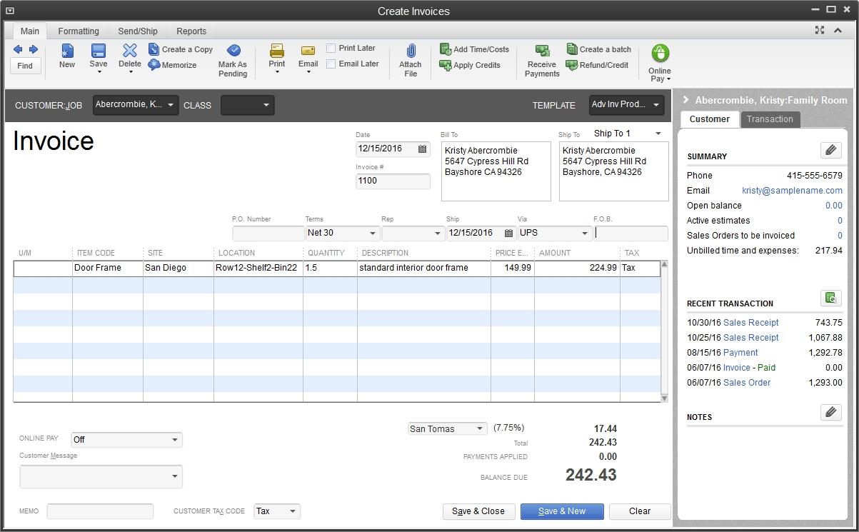 inventory management system quickbooks enterprise scan invoices into quickbooks