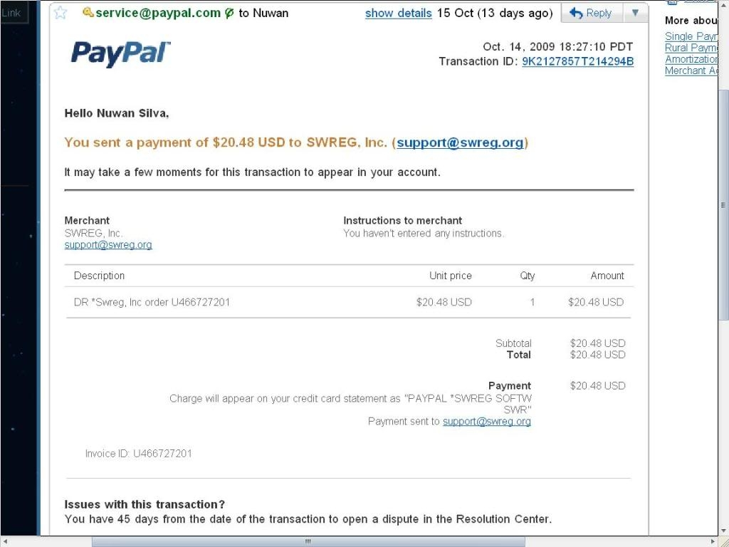 invoice for paypal paypal payment invoice photo nu1silva photobucket 1024 X 768