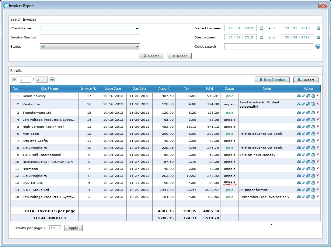 invoicing software for mac and pc sleek bill bill invoice software