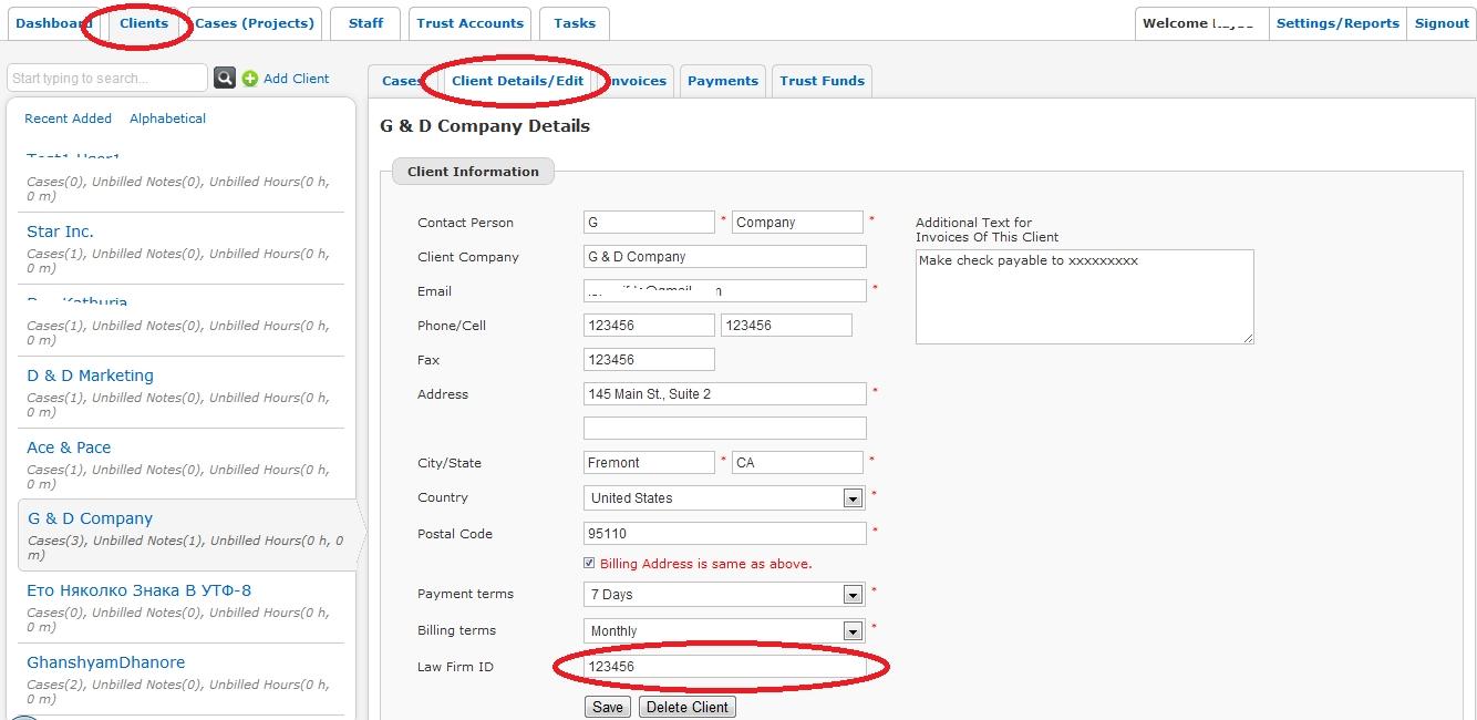 ledes invoice generation legal billing software invoice numbering system