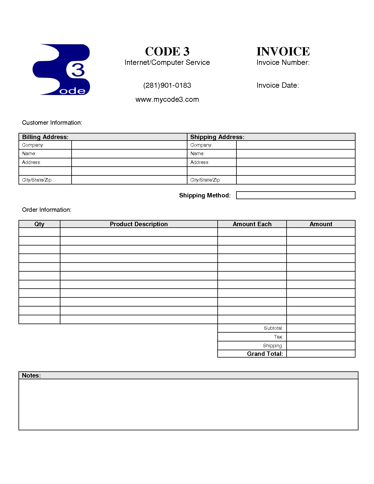pin computer service invoice template pictures on pinterest computer service invoice template