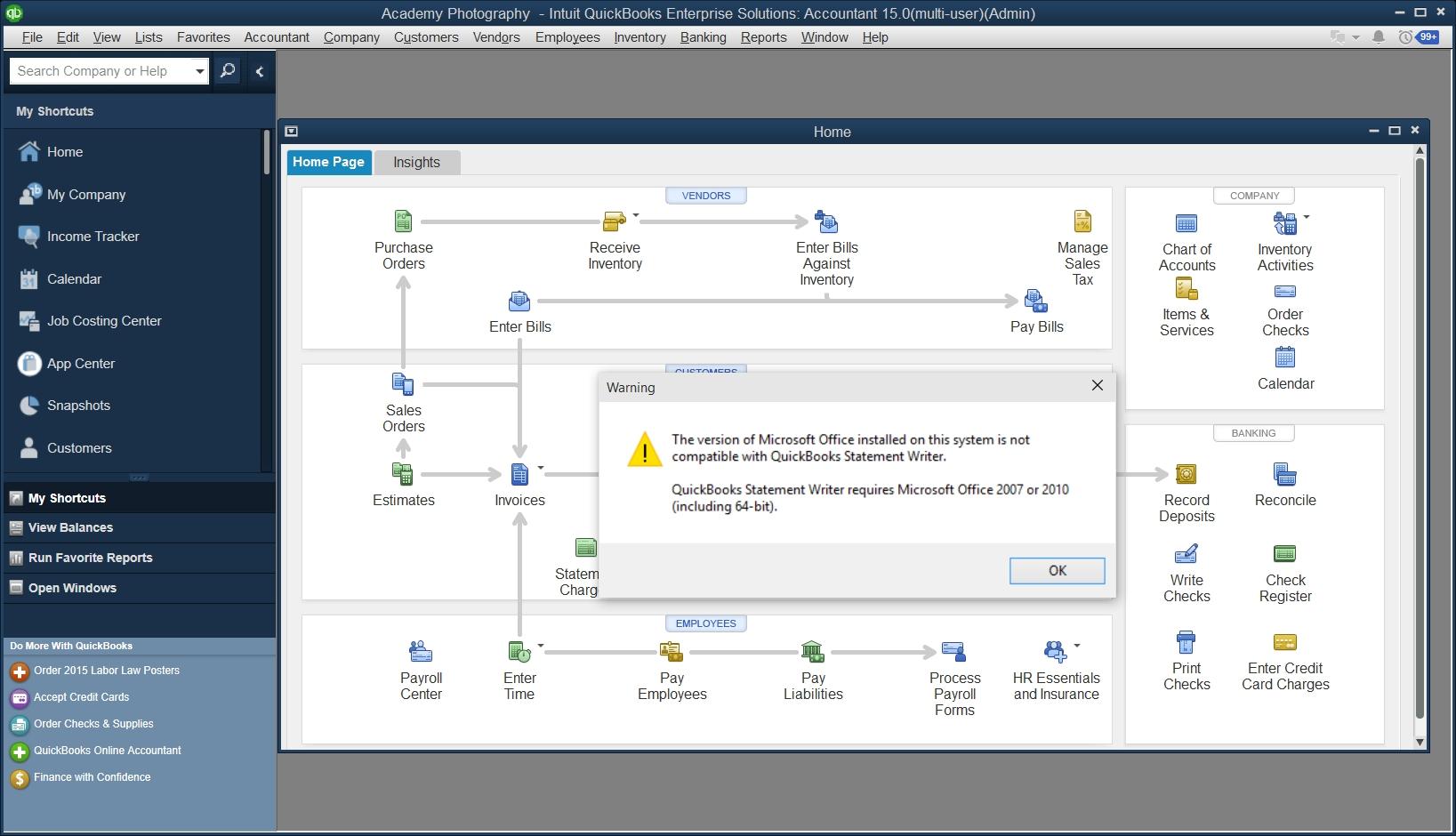 quickbooks and windows 10 sleeter report scan invoices into quickbooks