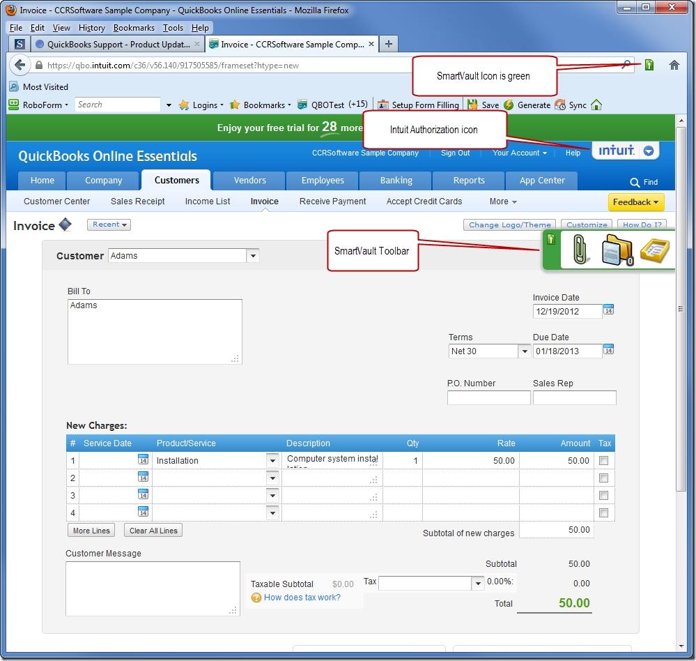quickbooks online document management with smartvault sleeter report scan invoices into quickbooks