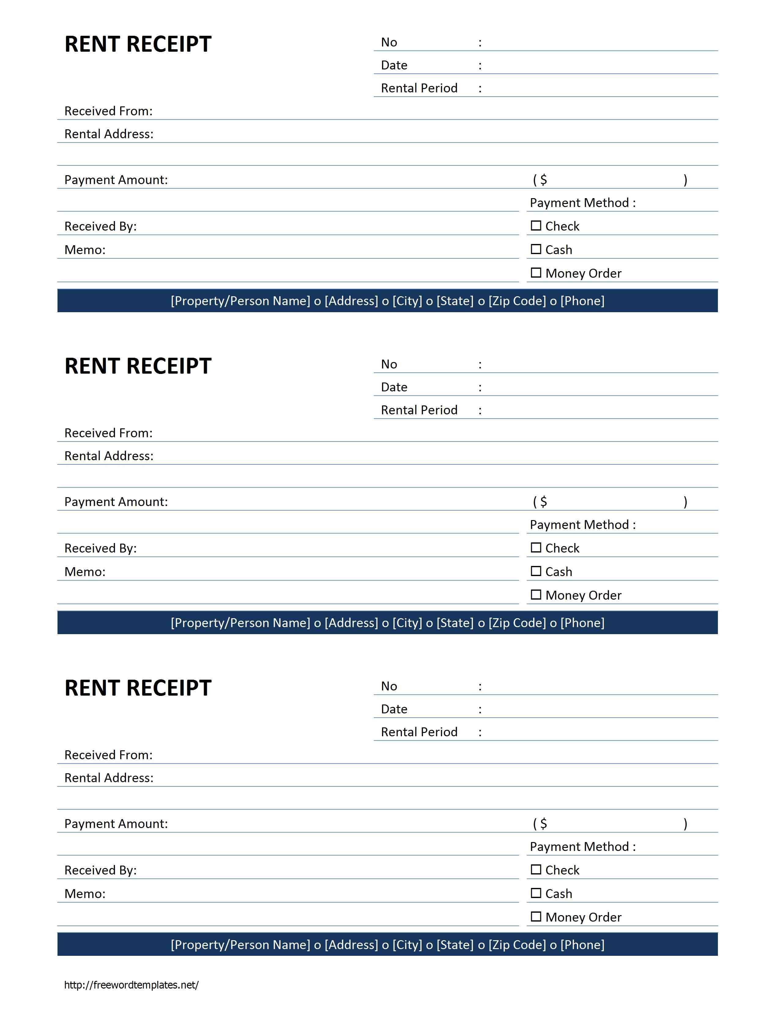 rent invoice form rent receipt template free microsoft word templates 2550 X 3300
