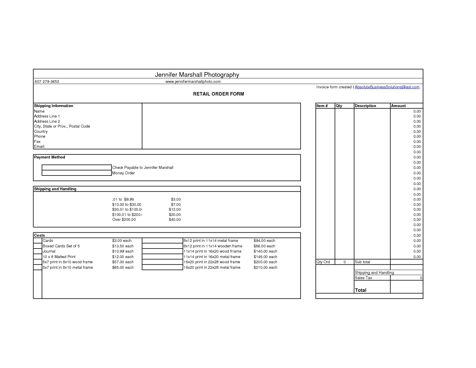 retail invoice direct download retail invoice template