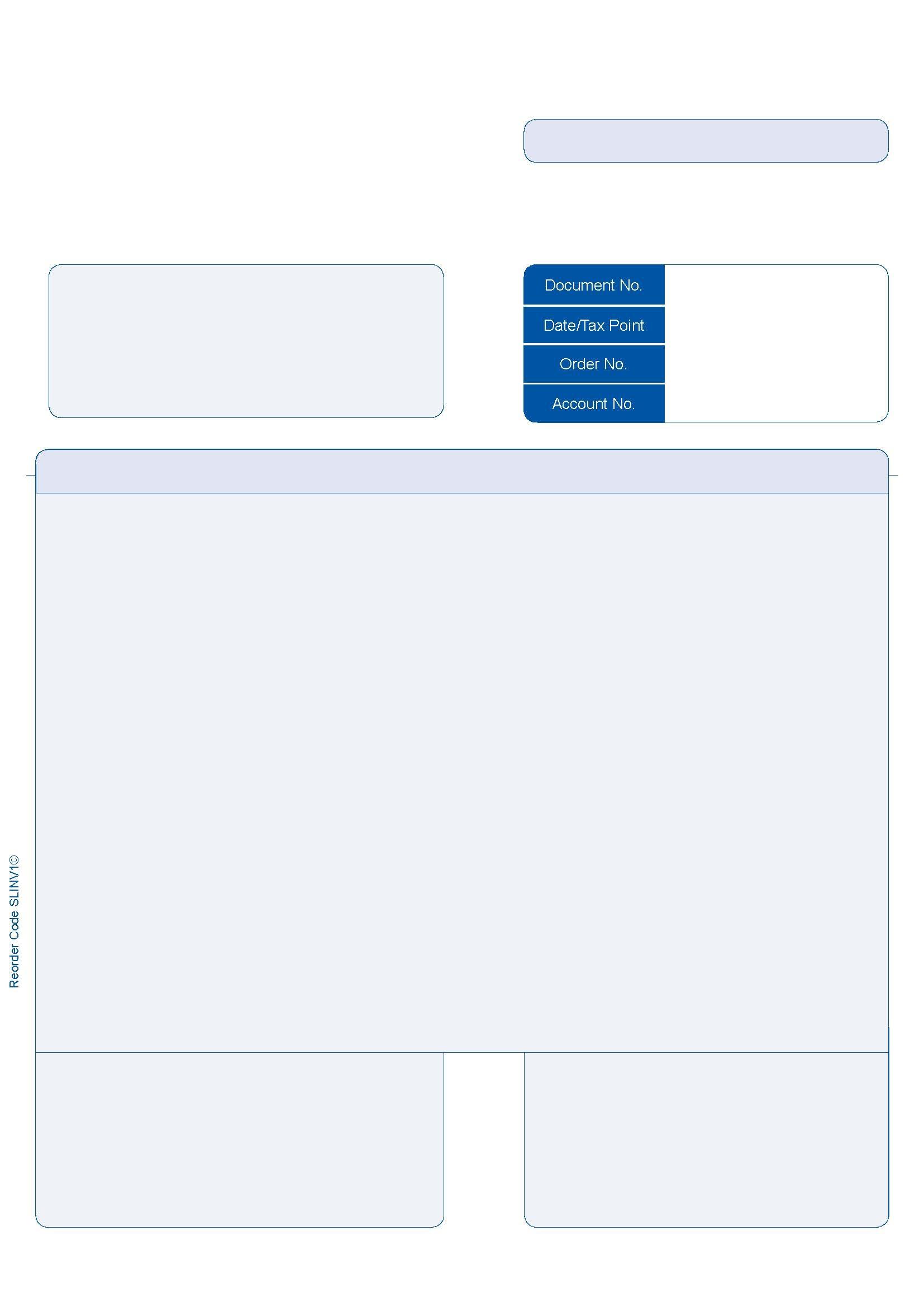 sage invoice paper slinv1 500 sage compatible 1 part a4 laser invoice pack 500 1654 X 2339