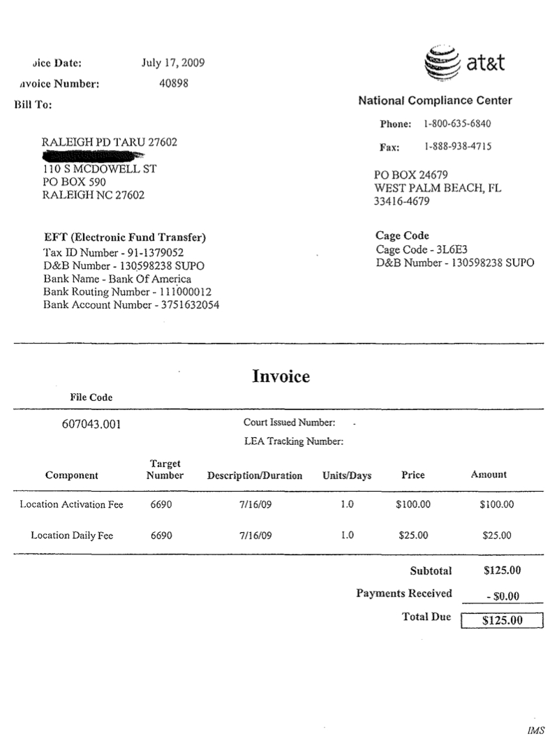 wireless providers side with cops over users on location privacy mobile phone invoice