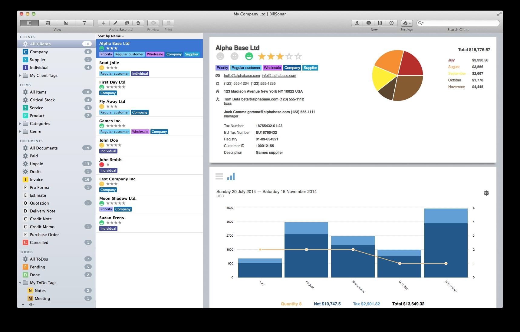 billsonar invoice apple mac os x invoices for mac