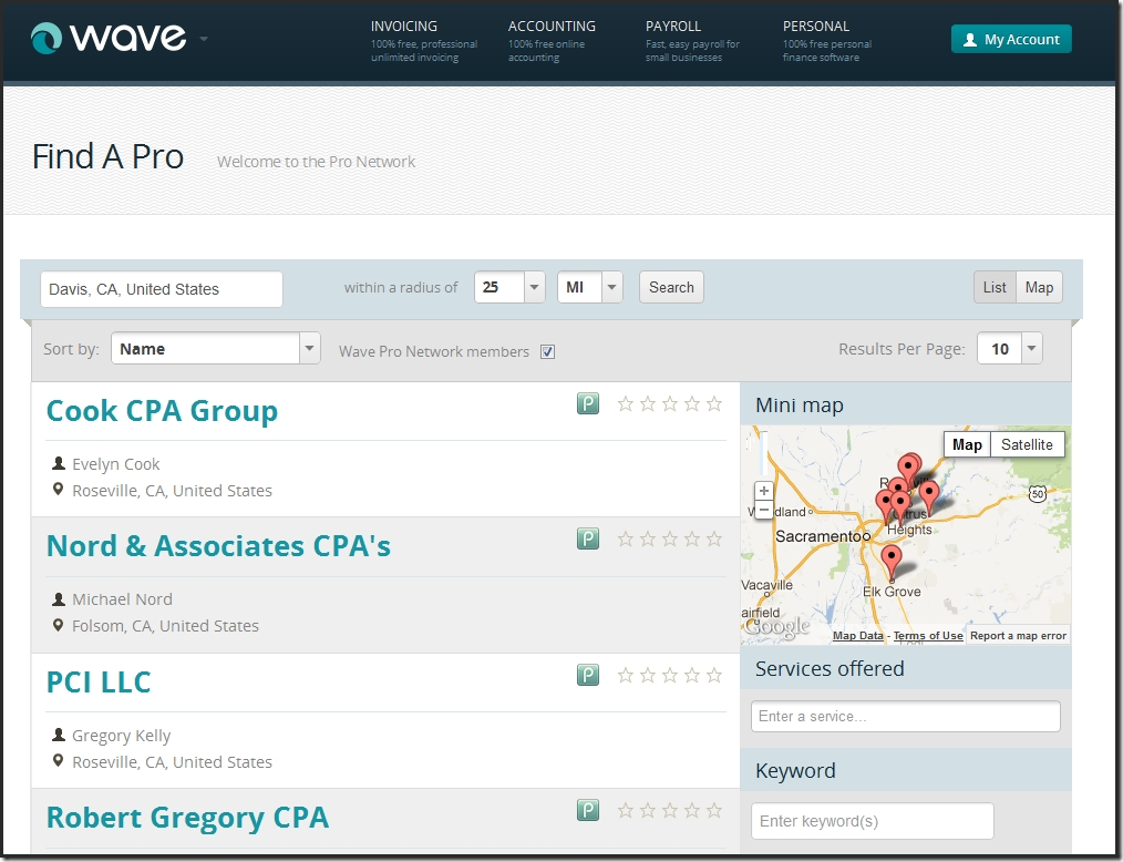 cloud accounting with wavethe details sleeter report wave accounting invoice