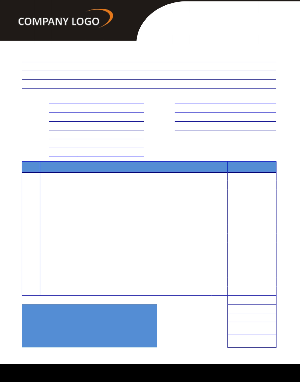 web design invoice
