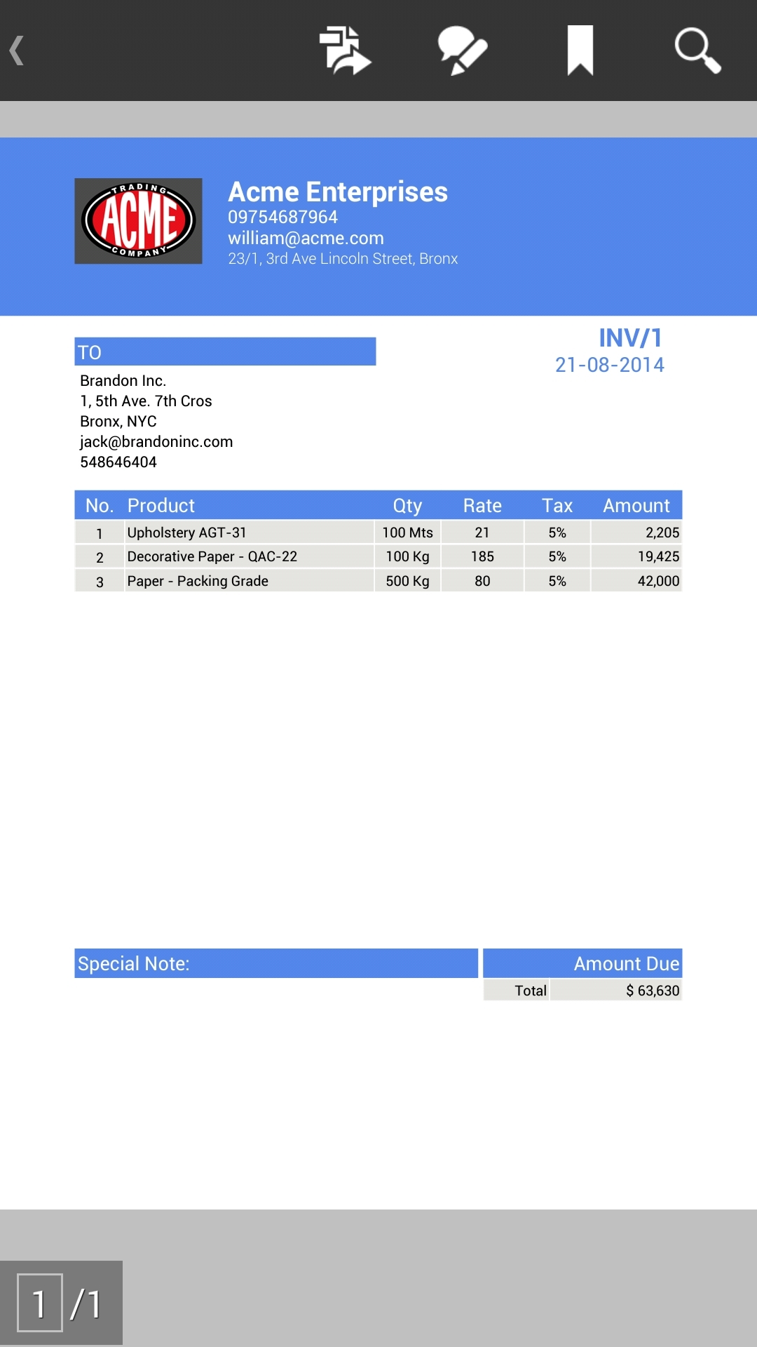 invoice app for android invoice template free 2016 free invoice app for android