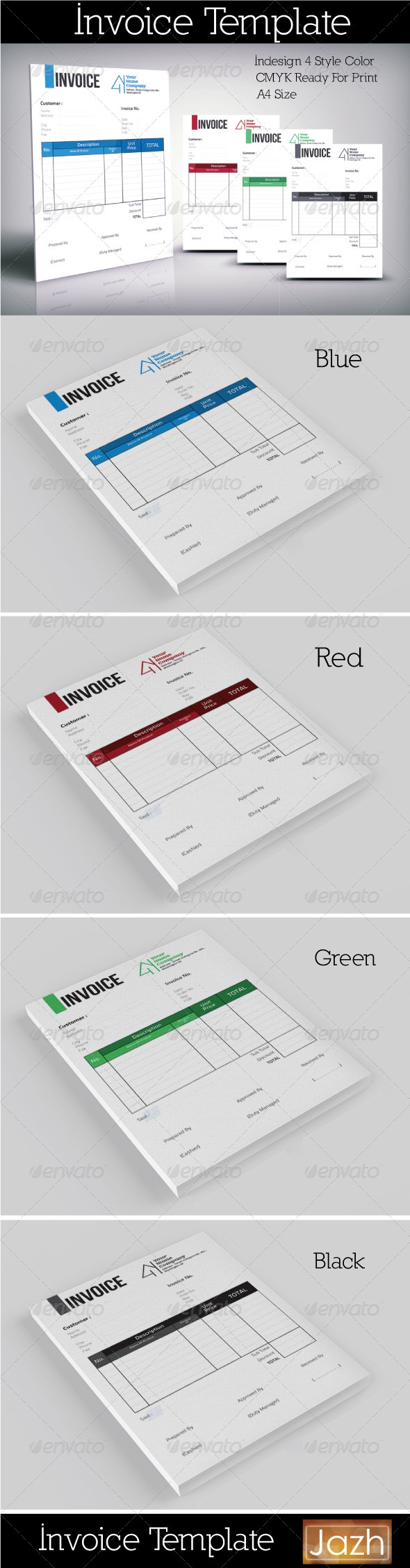 invoice template clean graphicriver invoice template indesign