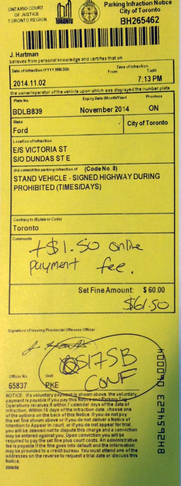Parking Invoice Toronto * Invoice Template Ideas