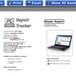 Computer Repair Invoice Software