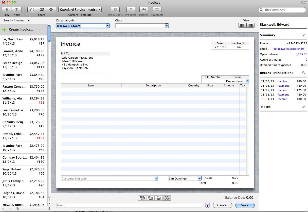 quickbooks for mac 2012 new features and enhancements invoices for mac