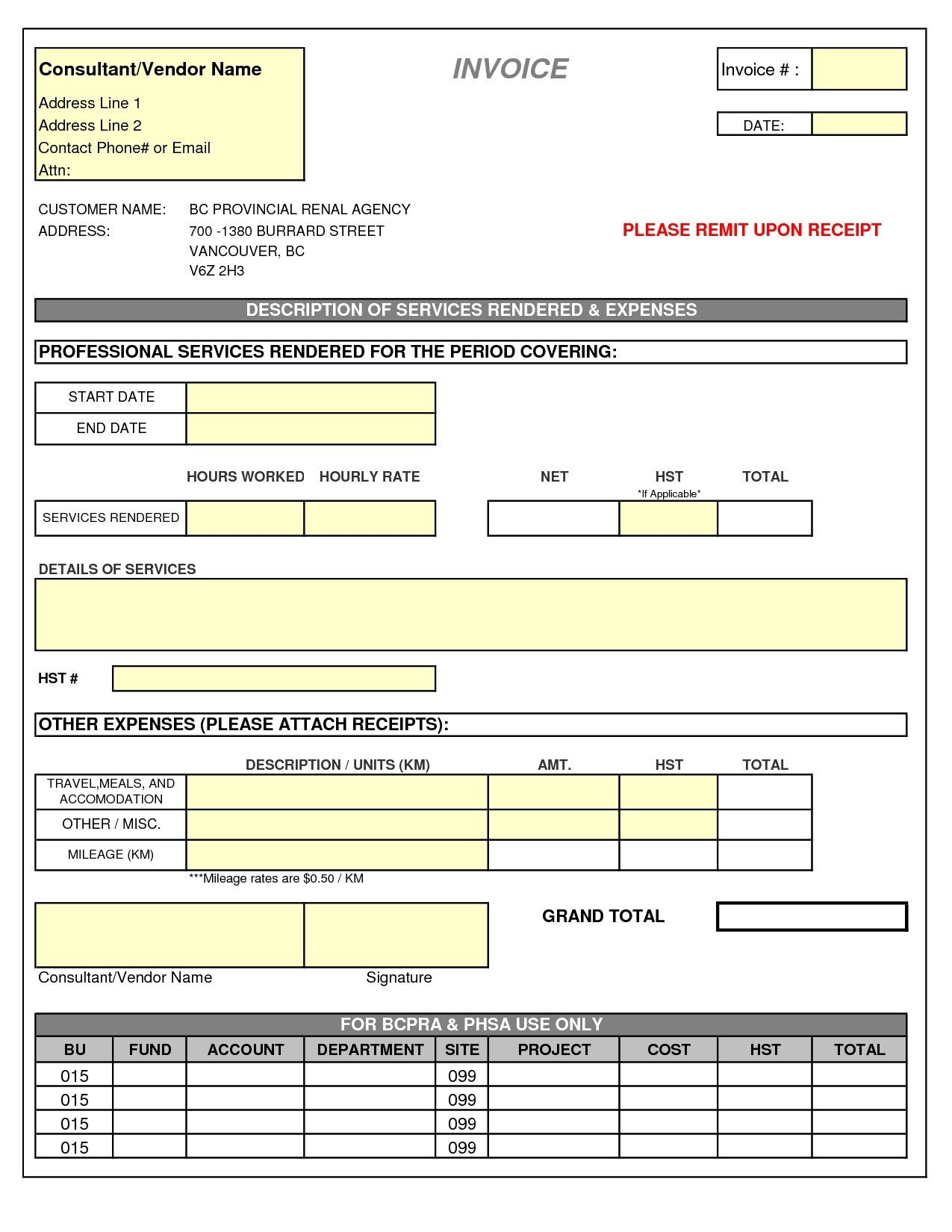 sample invoices for consulting services invoice template for consulting services | invoice template free 2016 1275 X 1650