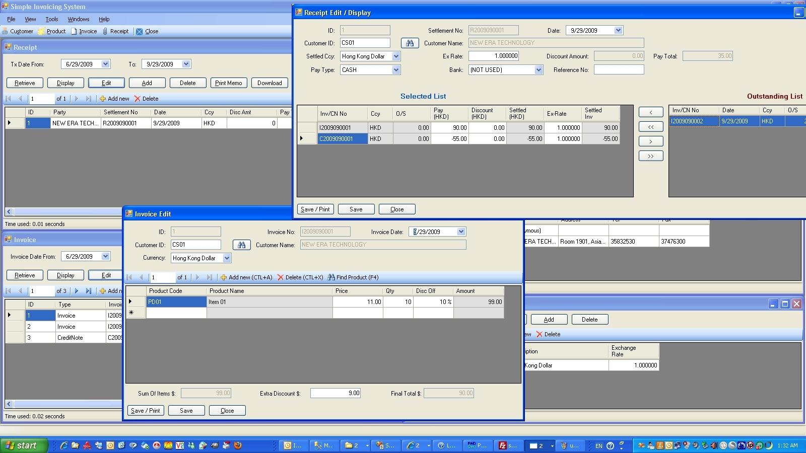 Simple Invoice Software Invoice Template Ideas - Simple invoice software free