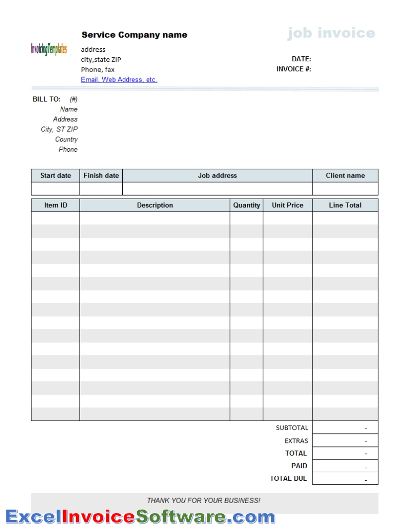 software consulting invoice template my invoices software