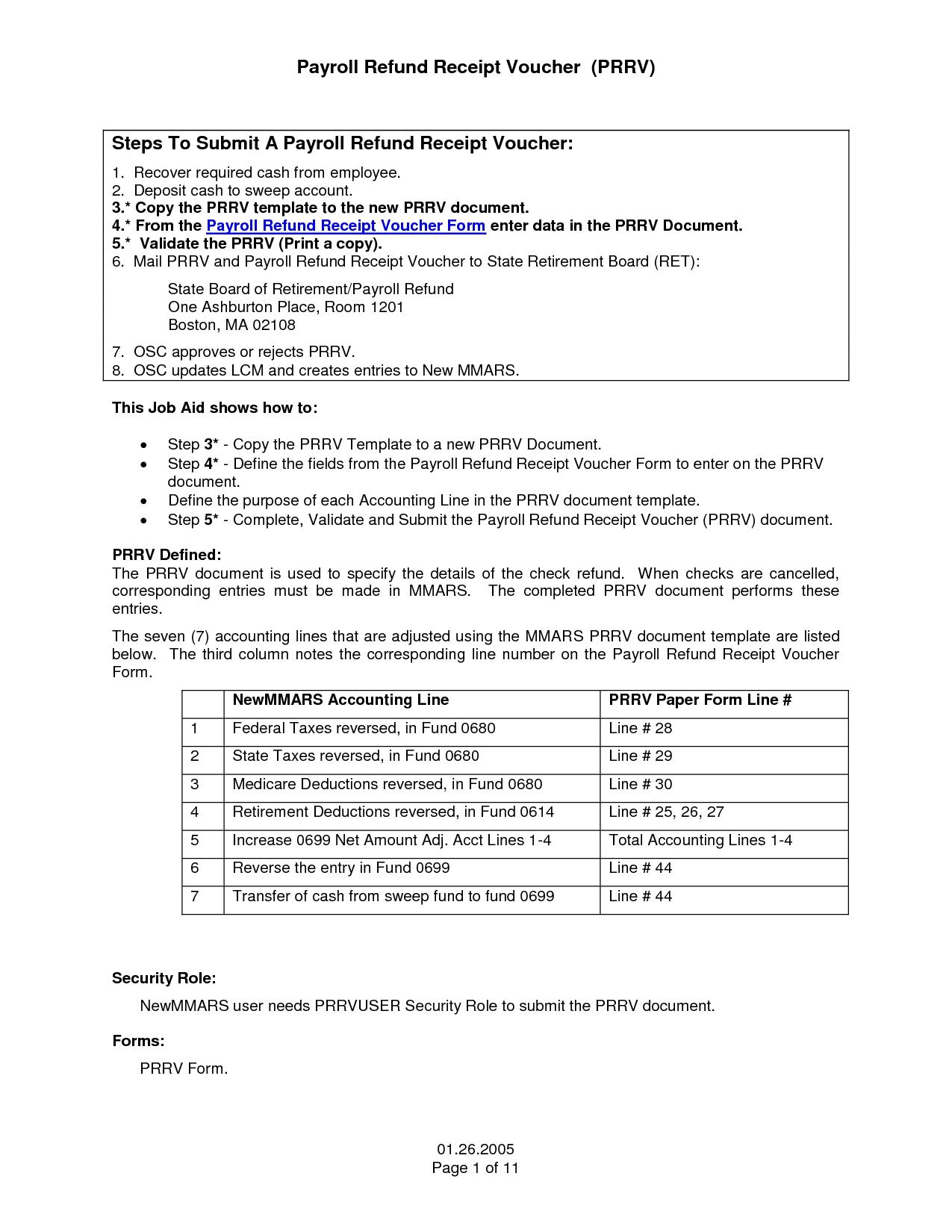 Attractive Sample Of Receipt Form 17 Best Photos Of Payroll Voucher Template Free Payroll  Template Payroll Invoice Template Sample Of Receipt Formhtml