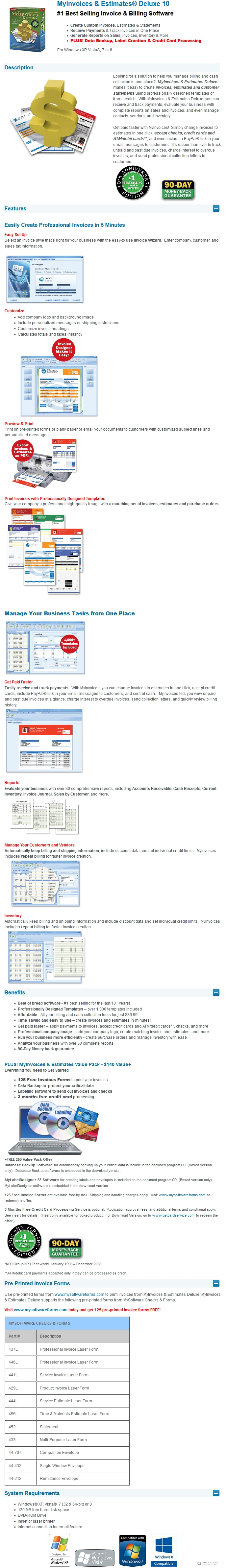 30 off avanquest my invoices amp estimates deluxe discount coupon my invoices and estimates