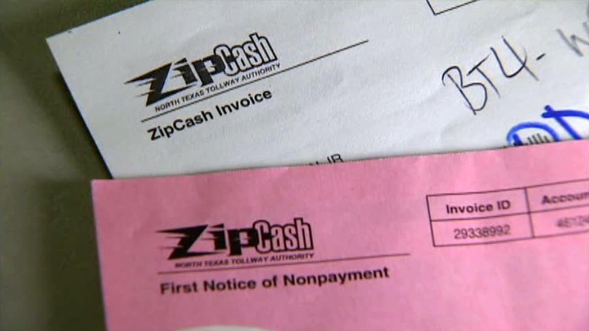 almost 500000 tollway users billed for old tolls nbc 5 dallas zip cash invoice