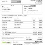 Australia Tax Invoice