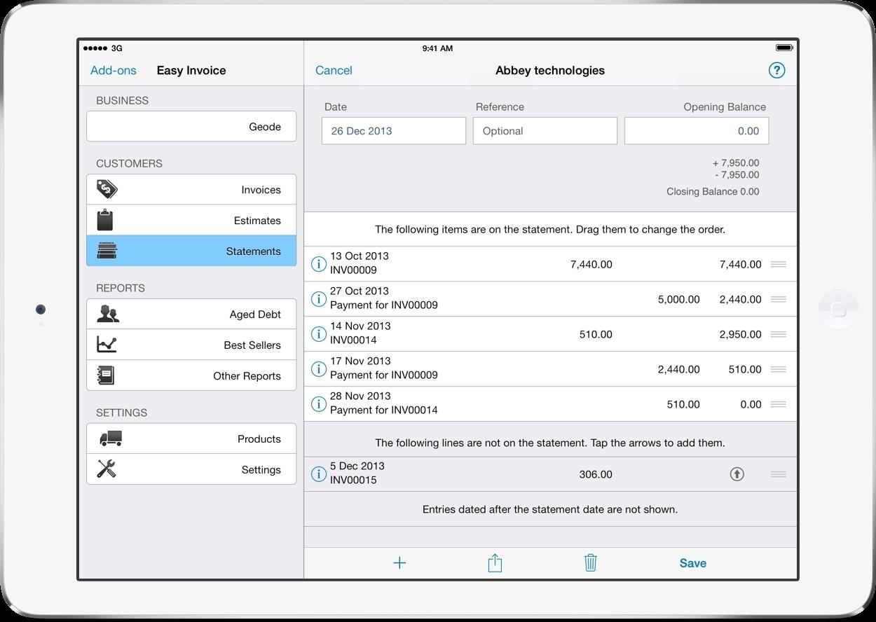 Invoice Template App Romeolandinezco - Ios invoice app