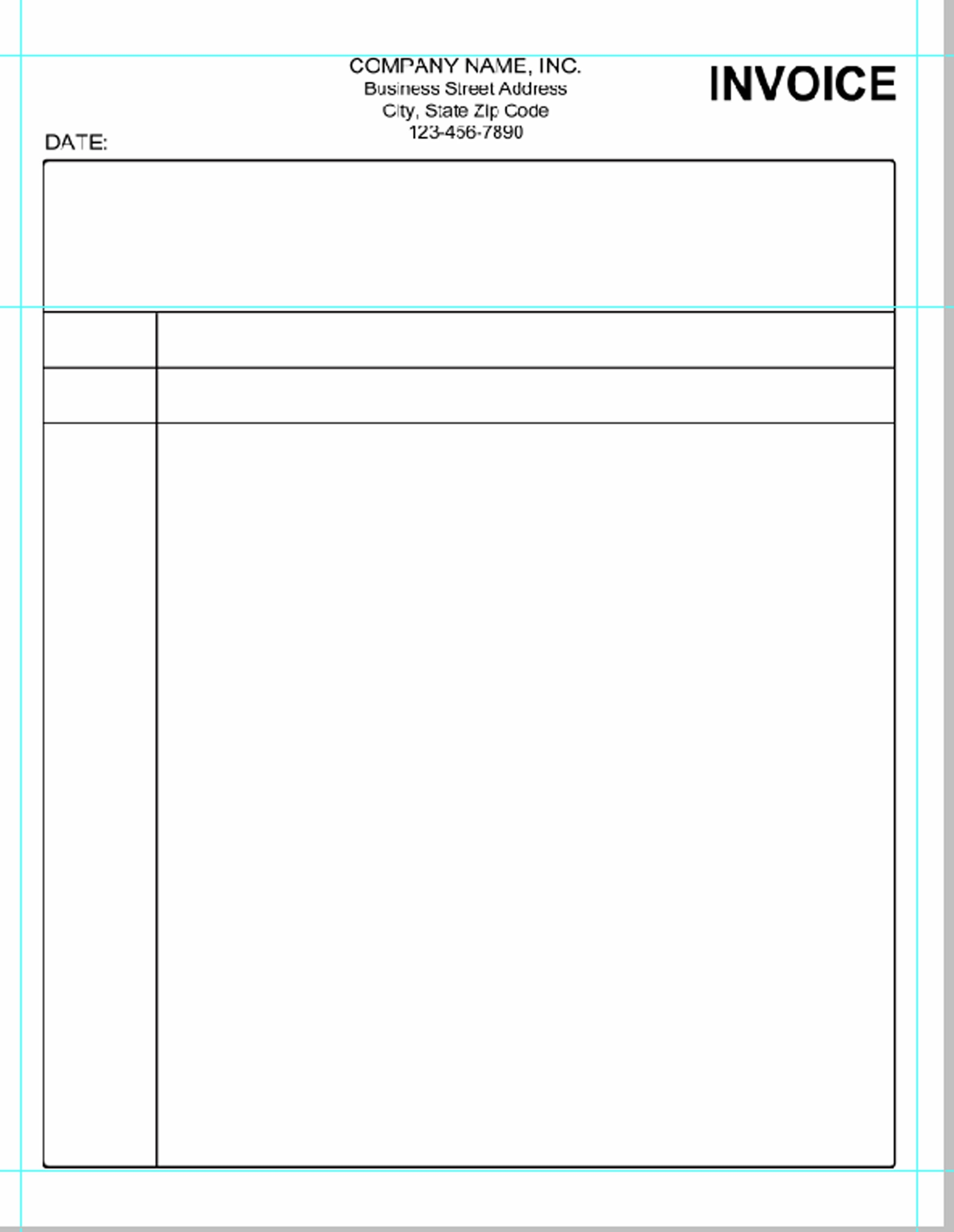 ... Blank Invoice Sample Free Blank Invoice Template Invoice Template Free  2016 2123 X 2742 ...  Blank Invoice Form Free