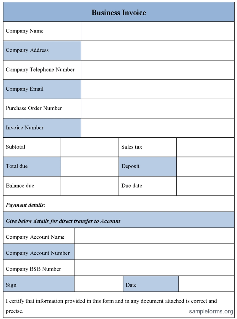business forms invoice templates business invoice forms