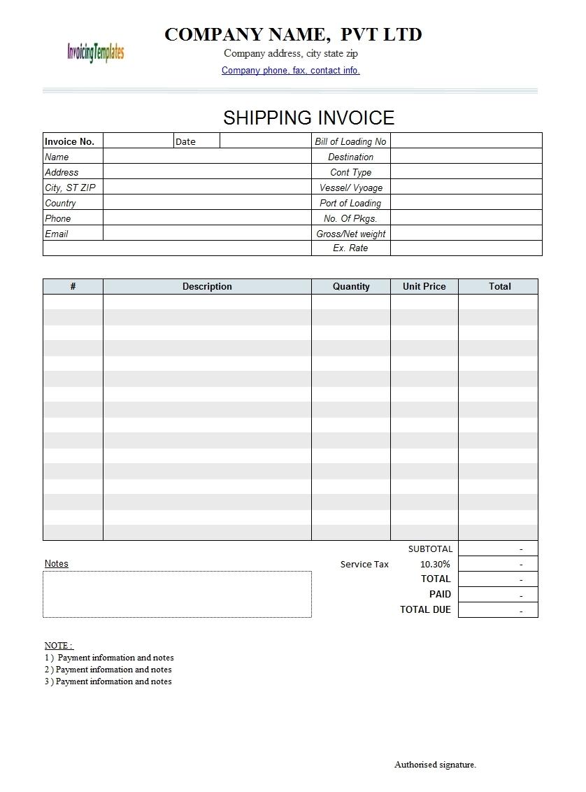 Google Docs Templates Invoice Invoice Template Ideas - Google invoices templates