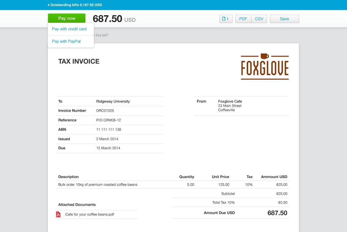 invoicing software xero xero invoice api