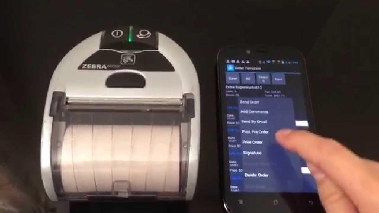 mobile invoice printer laceup mobile invoicing printing electronic invoice in zebra 1280 X 720
