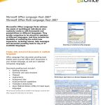 Microsoft Office Invoices
