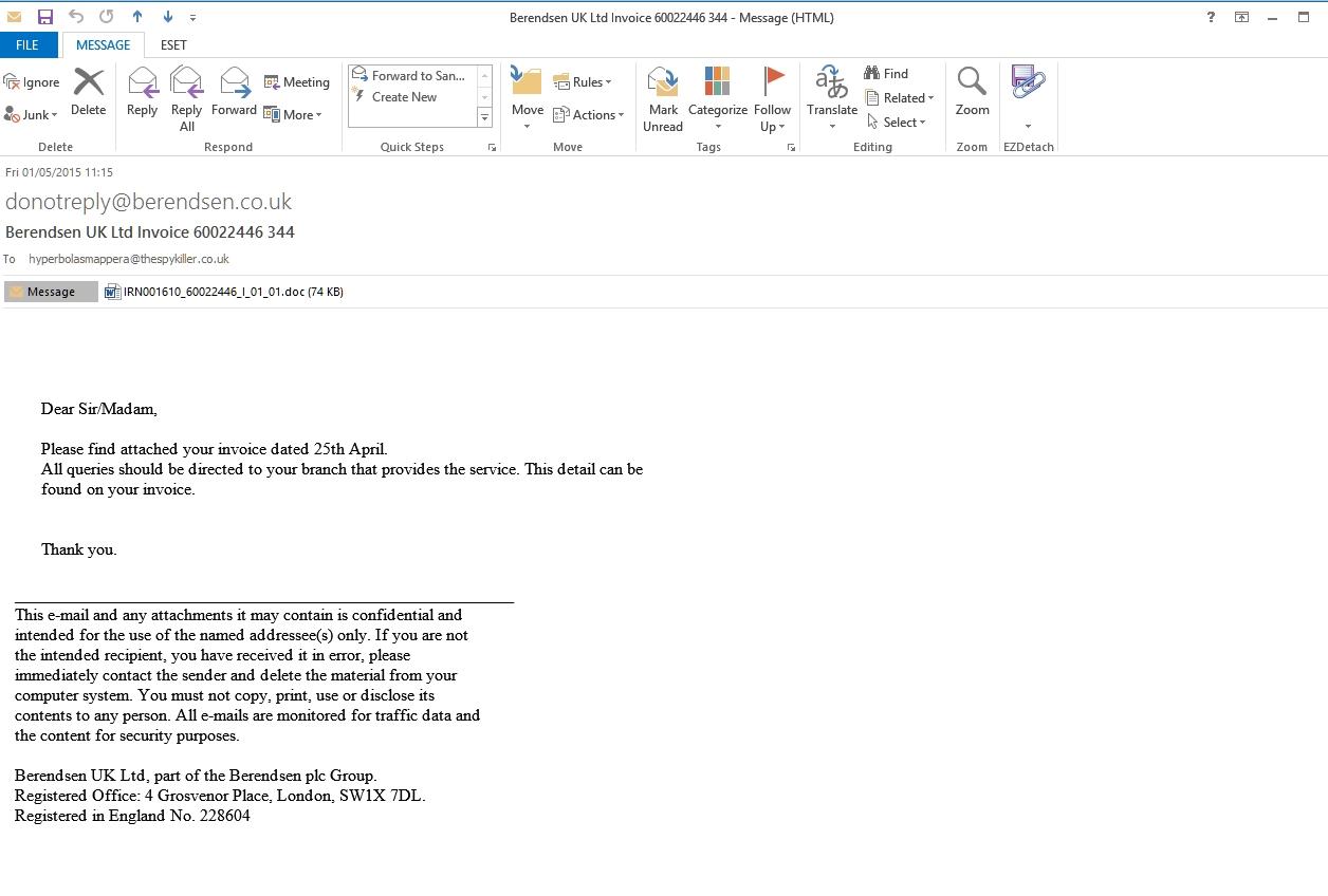 please find enclosed invoice berendsen uk ltd invoice 60022446 344 word doc or excel xls 1256 X 848