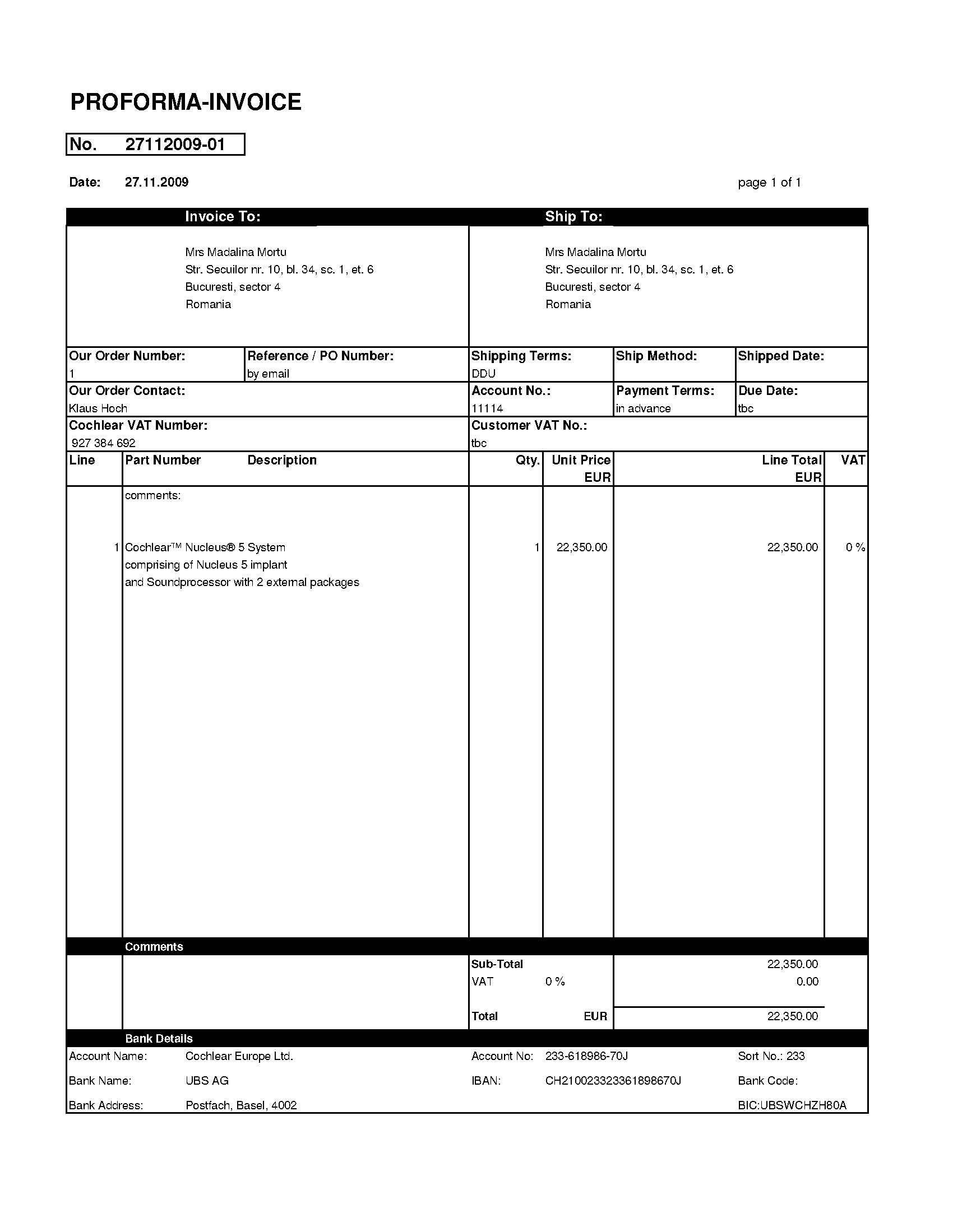 proforma invoice bafflingdynu proforma of invoice