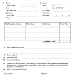 Commercial Invoice Proforma Invoice