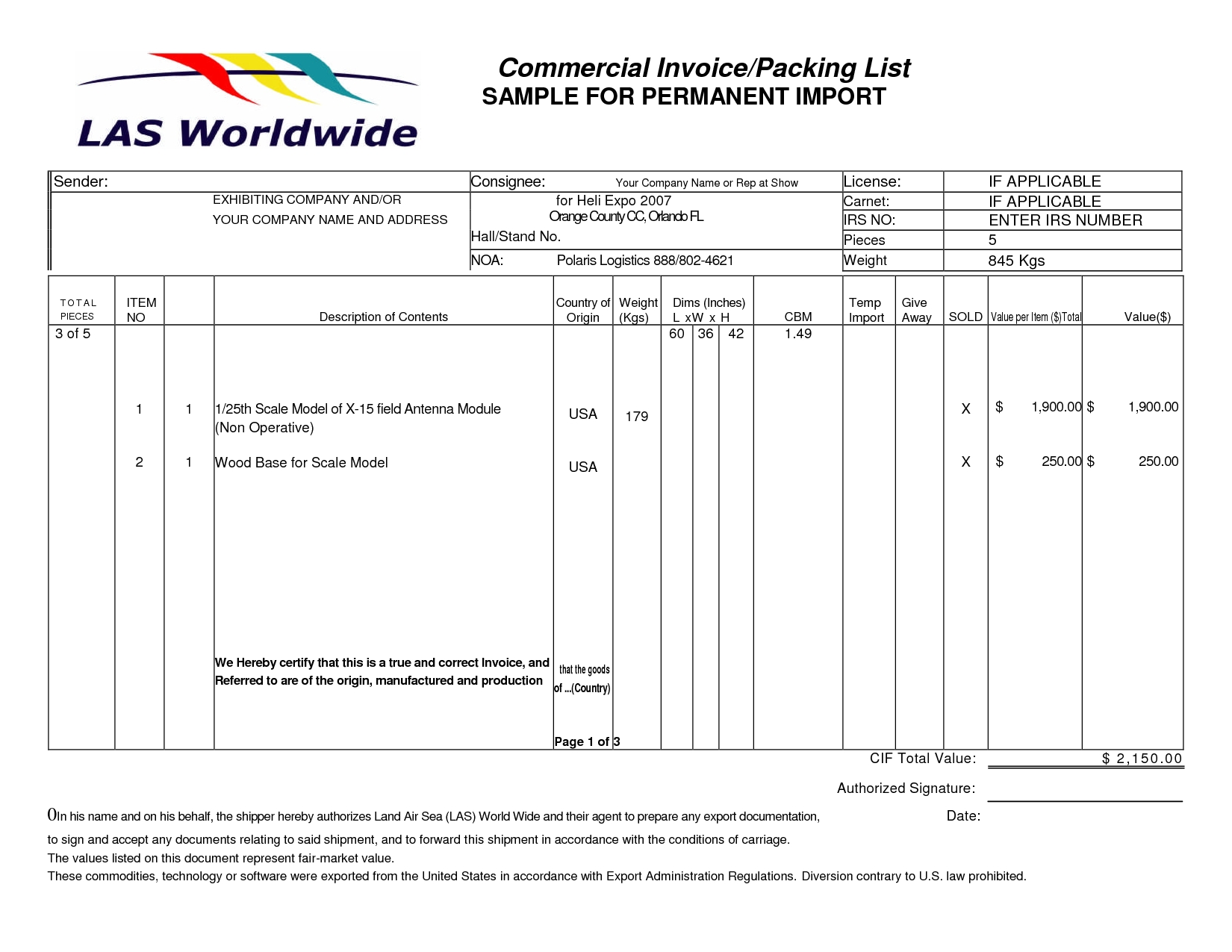 Shipments Modules Invoice Packing List Sample Packing List Template  Cobainagc Invoice Packing List ...  Packing List Sample